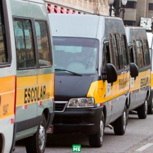 CONTRAN suspende a obrigatoriedade da cadeira infantil em transportes escolares