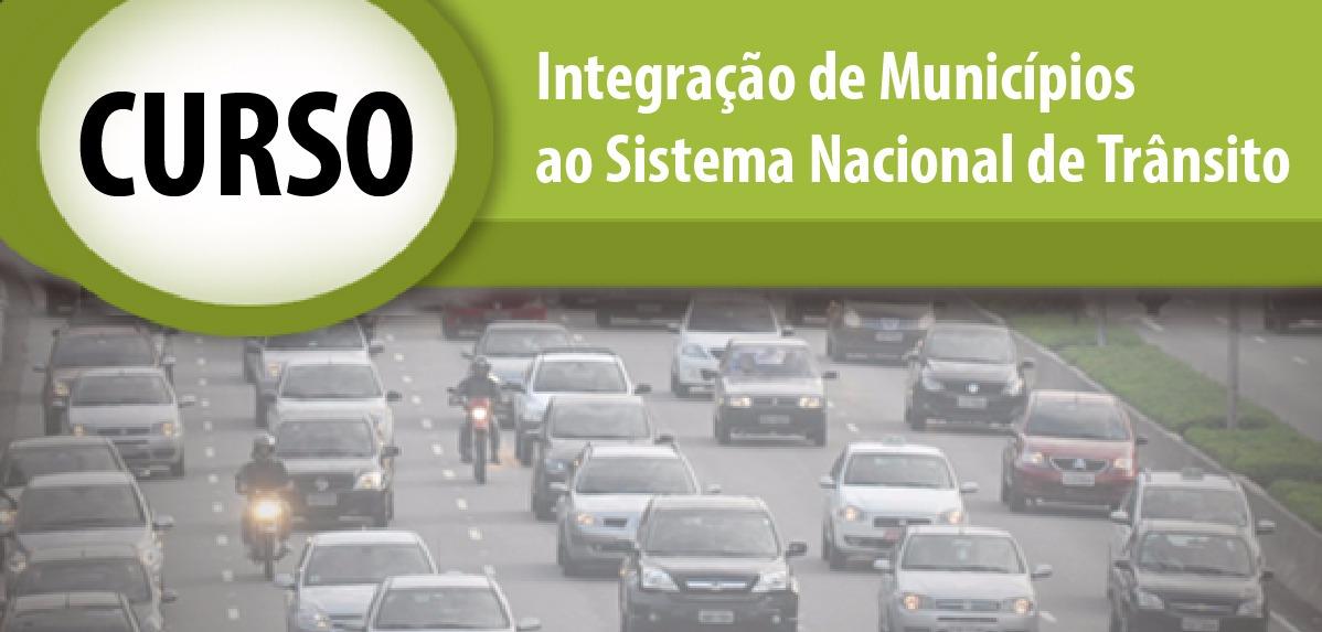 Abertas inscrições para curso EaD sobre Integração de municípios ao Sistema Nacional de Trânsito