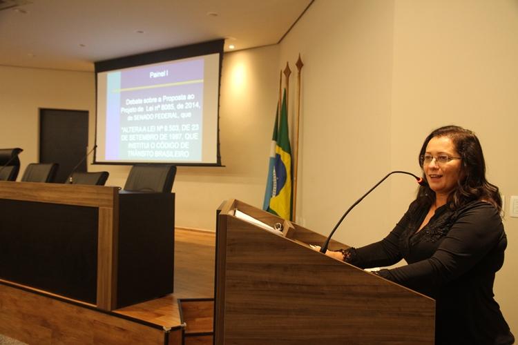 Seminário sobre CTB está sendo realizado em Campo Grande
