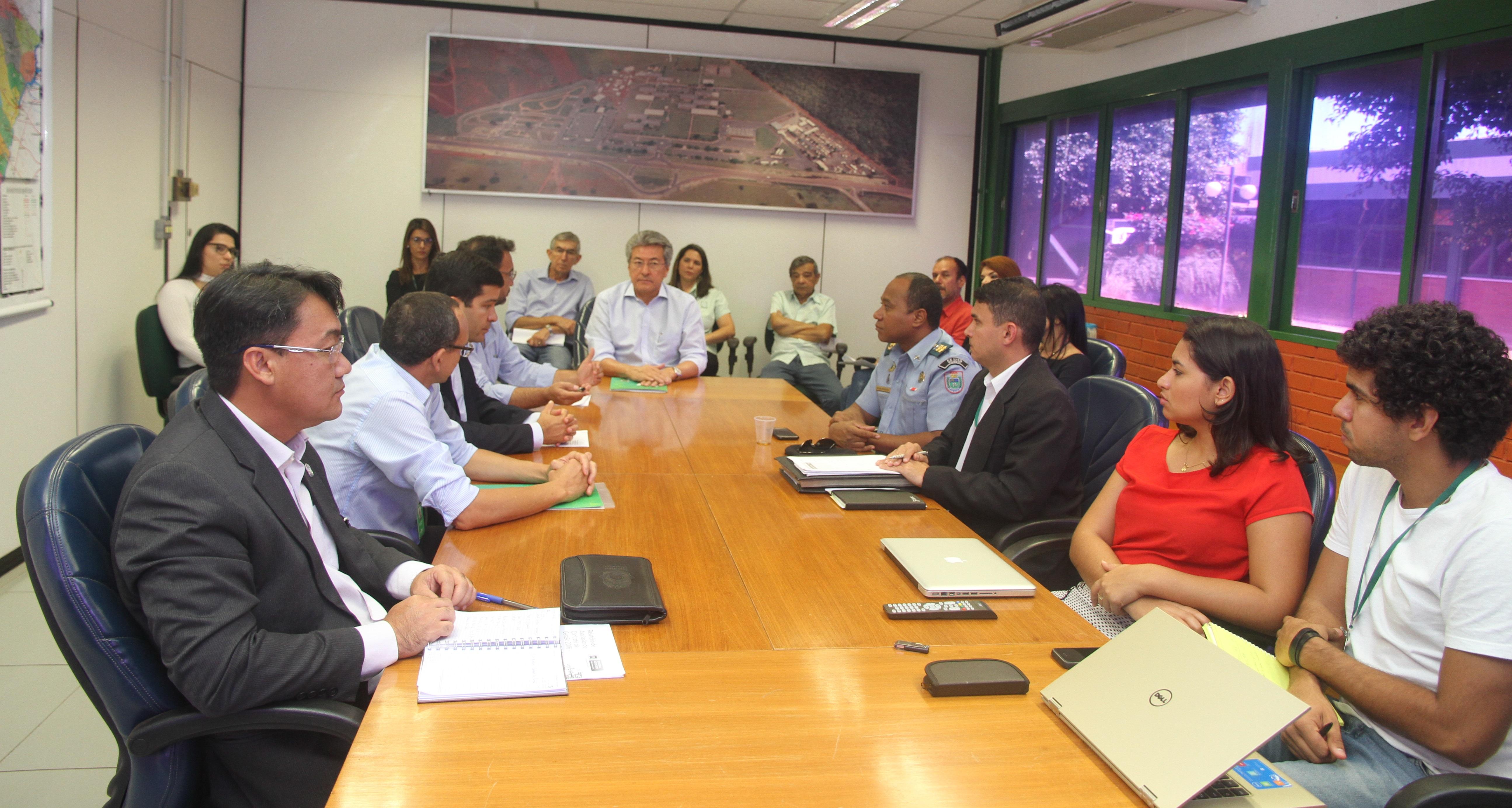 Detran realiza reunião de alinhamento com a Rede de Gestão Estratégica